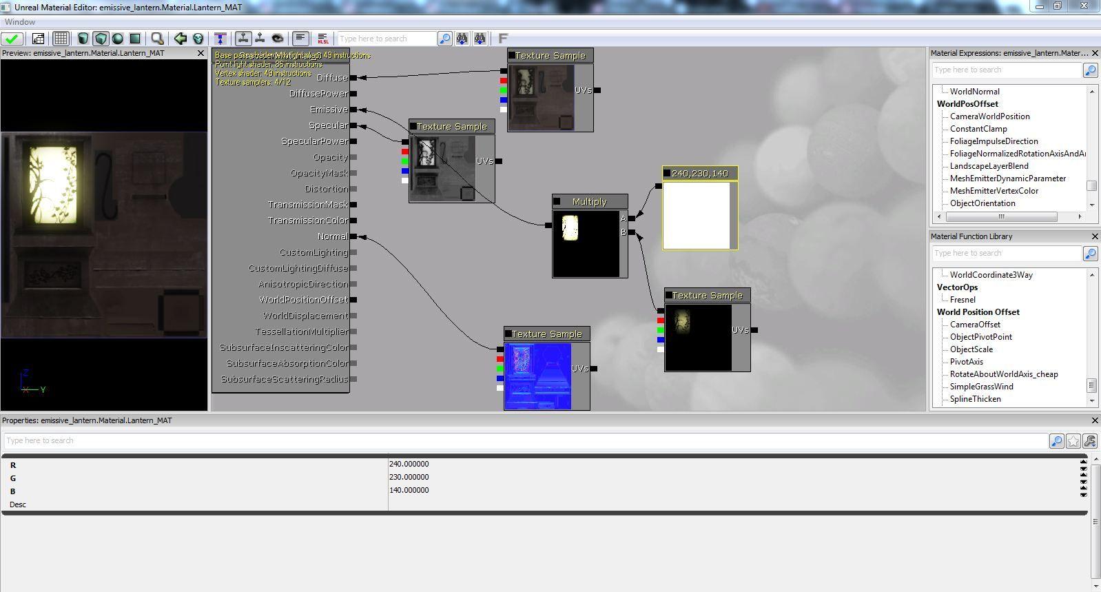 Emissive Tutorial Udk Tutorial Screenshots Desktop Screenshot