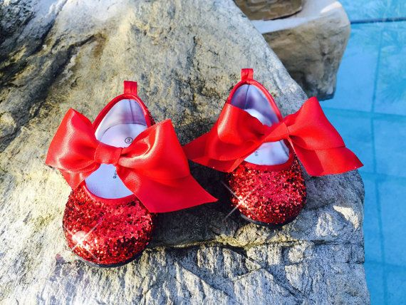 sparkly wizard of oz dorothy red ruby slippers red by sarahsmoon