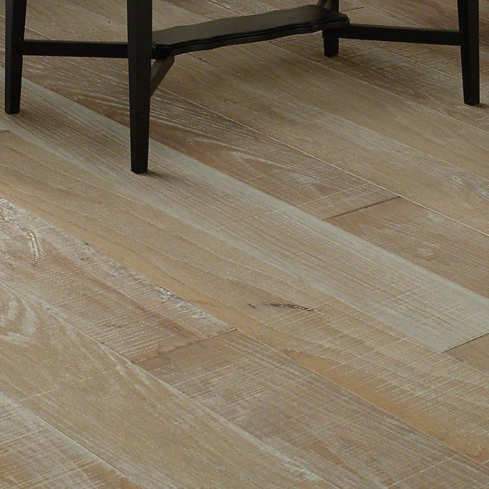 Hillsboro Random Width Engineered Hickory Hardwood Flooring In