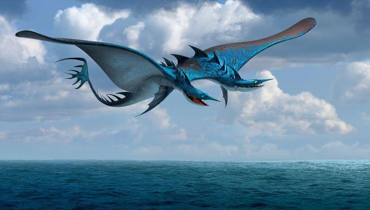 seashocker dragon cute - Google Search