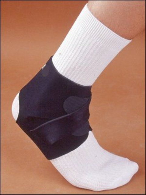 The Current Solutions ankle brace is an economic option for keeping the ankle steady for daily activities and sports.