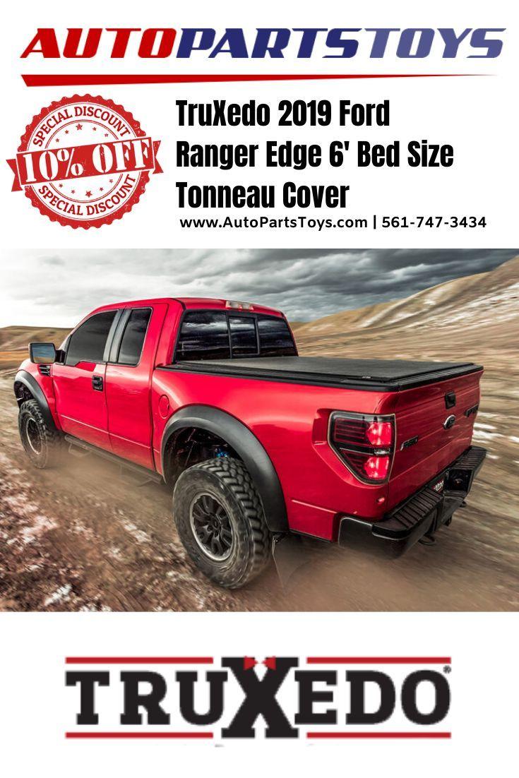 TruXedo 2019 Ford Ranger Edge 6' Bed Size Tonneau Cover