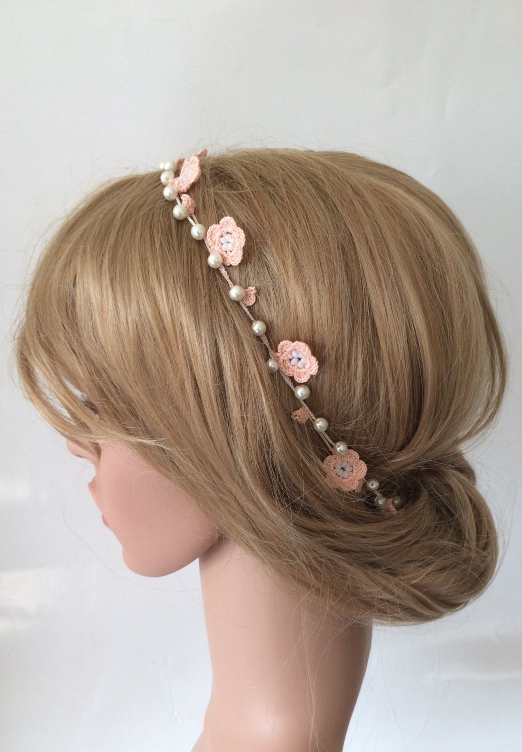 pin by nikki smithard on wedding hair | flower headband
