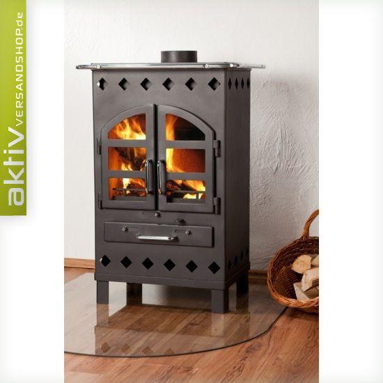 rustikal 7kw kamin pinterest rustikal kaminofen und stahl. Black Bedroom Furniture Sets. Home Design Ideas