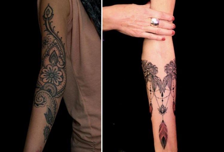 Unterarm frauen tattoo 25 Tattoo