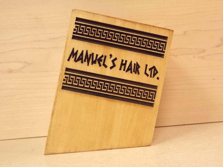 Black Scissor Case ~ Salon Decor ~ Scissor Holder ~ Hair Salon Logo ...