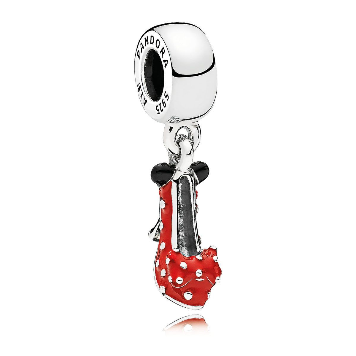 Who Sells Pandora Jewelry: Minnie Mouse Shoe Charm By Pandora Jewelry