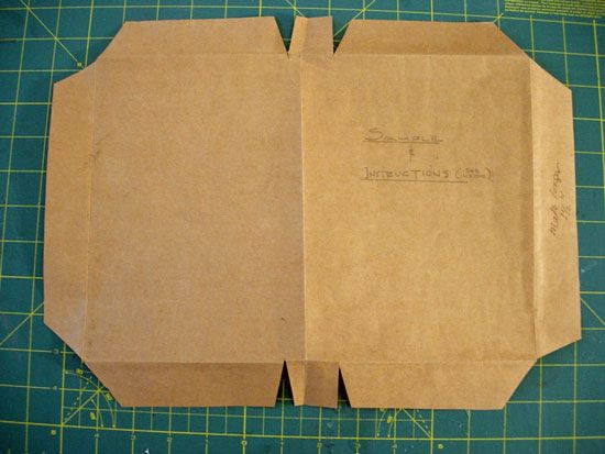 How to cover a book with a paper bag | diy