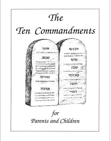 The Ten Commandments Ten Commandments Education Ten