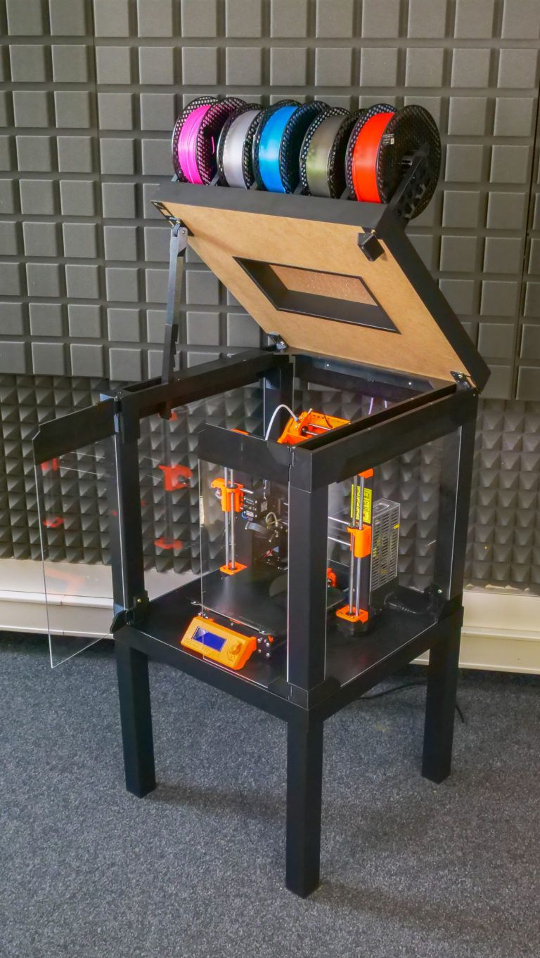 Prusa Printer Enclosure V2 - with MMU2S support