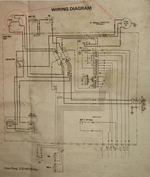 Trane Xe 1100 Wiring Diagram Model