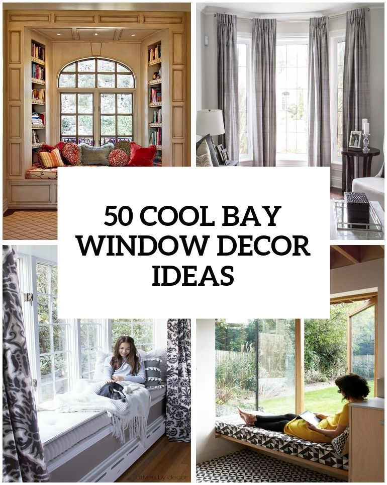 50 Cool Bay Window Decorating Ideas | Dream Things❤ | Pinterest ...