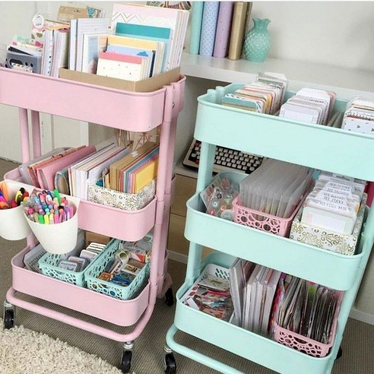 83+ Smart Dorm Room Storage Organization Ideas on A Budget images