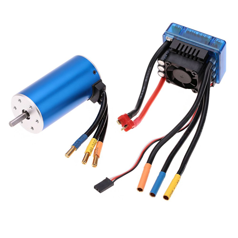 3670 1900kv 4p Sensorless Brushless Motor With 120a Esc Wiring Electric Speed Controller For 1