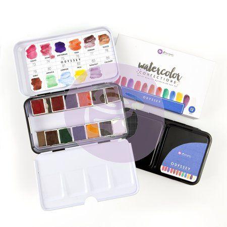 Arts Crafts Sewing Prima Watercolor Watercolor Pans Prima