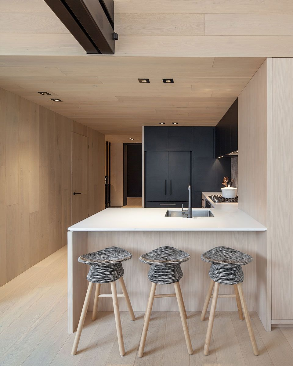 Cabin Residences Condo Interior Condo Kitchen Cabin Interior Design