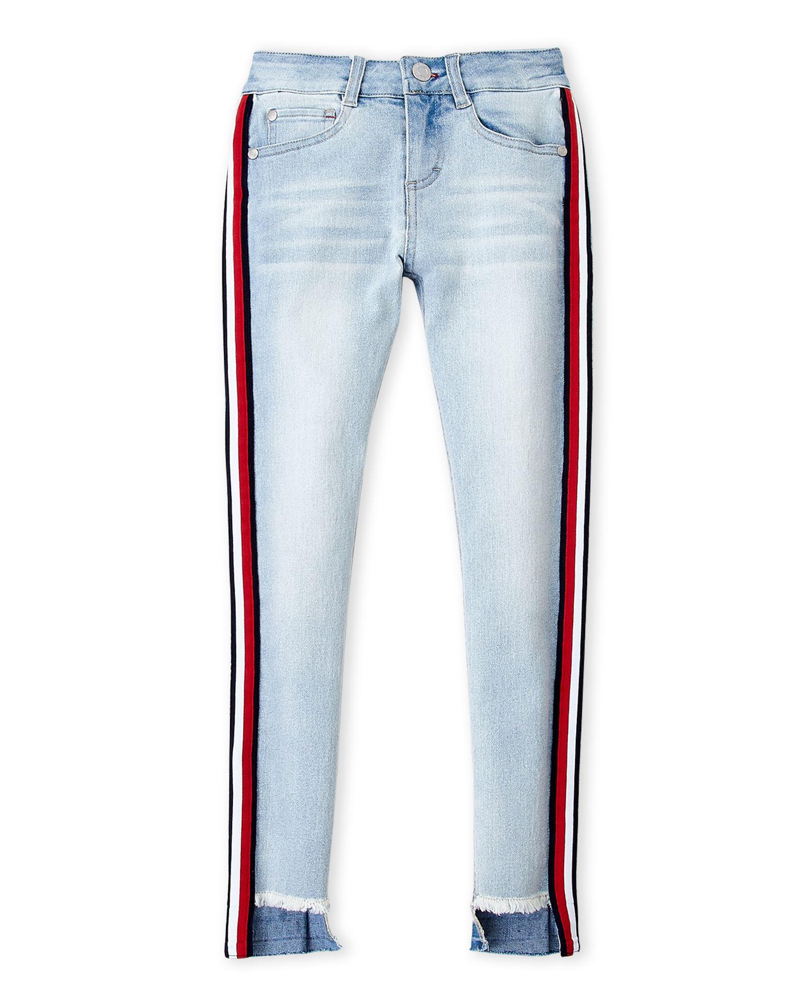 Tommy Hilfiger (Girls 7-16) Stripe Jean Mince Skinny Jeans ... a8a042c162