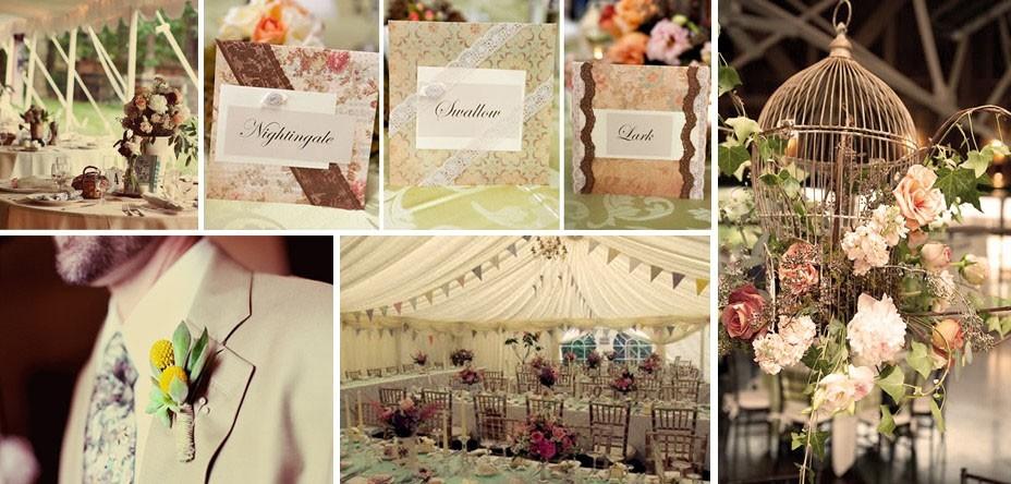 Some Gorgeous Ideas For A Vintage Wedding