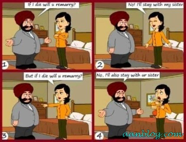 Sardar-Funny-Marry-Joke-Sister-Relation-Die-Love-Men-Women-People-Thinking-Funny-Joke  Funny -9211