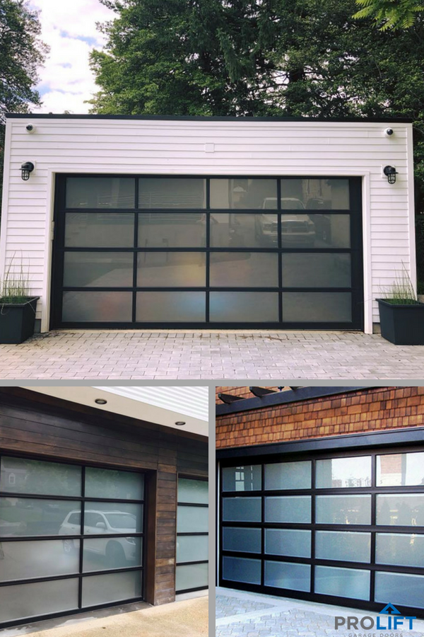 Express A Unique Home Exterior With A Glass Garage Door Learn All About Garage Door Designs As Well As Kee Garage Door Styles Garage Door Design Garage Doors