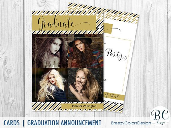 Black And Gold Graduation Invitation Template Download Law Gold