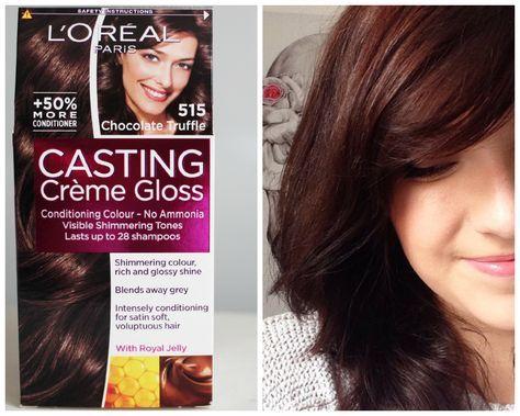 Loreal Casting Creme Gloss 535 Loreal Hair Color Hair Color Reviews Mahagony Hair Color