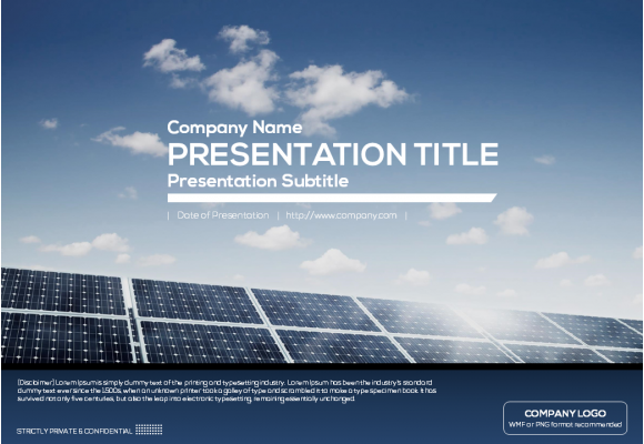 Powerpoint Cover Google Search Powerpoint Template Free Solar Energy Facts Powerpoint Templates
