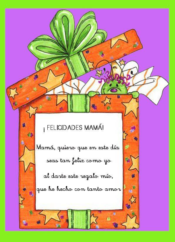 Maestra De Infantil Poemas Para El Día De La Madre Dia De Las Madres Tarjetas Del Día De Las Madres Día De La Mama