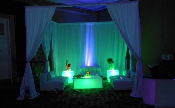 VIP Club Theme Bat & Bar Mitzvah & Party Ideas - Light-Up LED ...