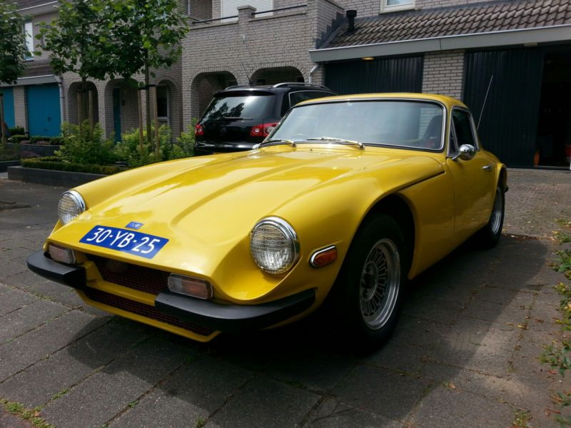 New Car Old Car Tvr Gelber Tvr 3000 M 1975 British Cars New Cars Sport Cars