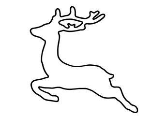 Coloring Page Deer Img 27263 Malvorlagen Fadengrafik Vorlagen Hirschkopf Zeichnung