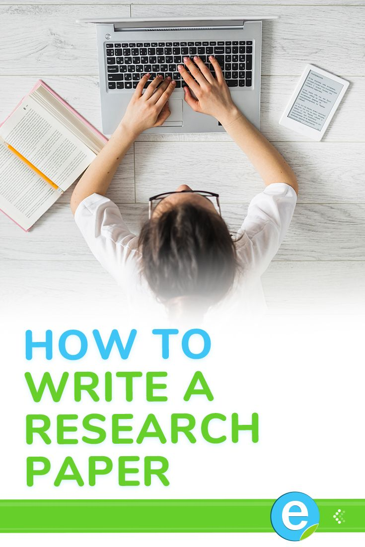 How to put a research paper in order