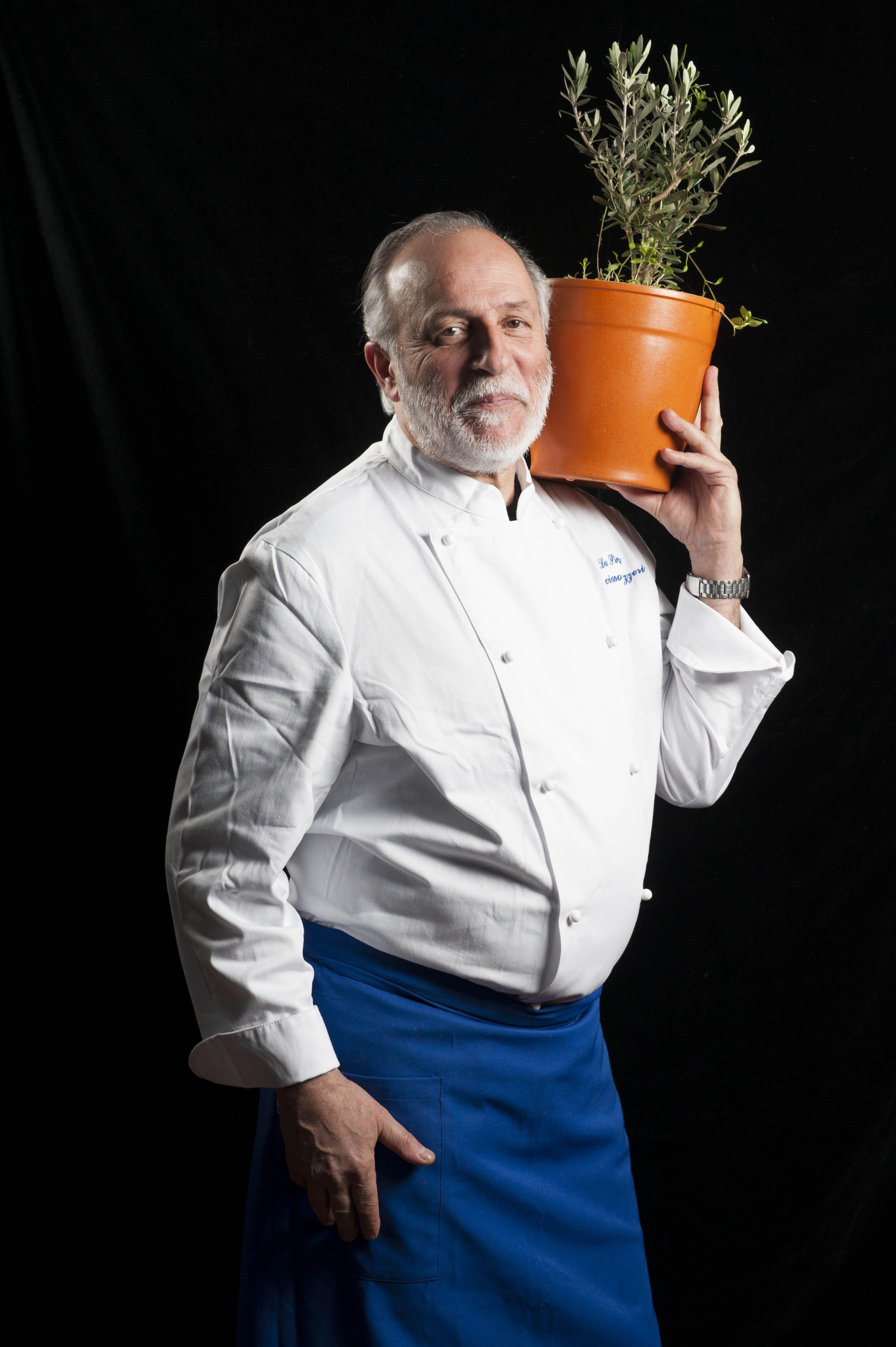 The Chef: Luciano Zazzeri - La Pineta. Bibbona
