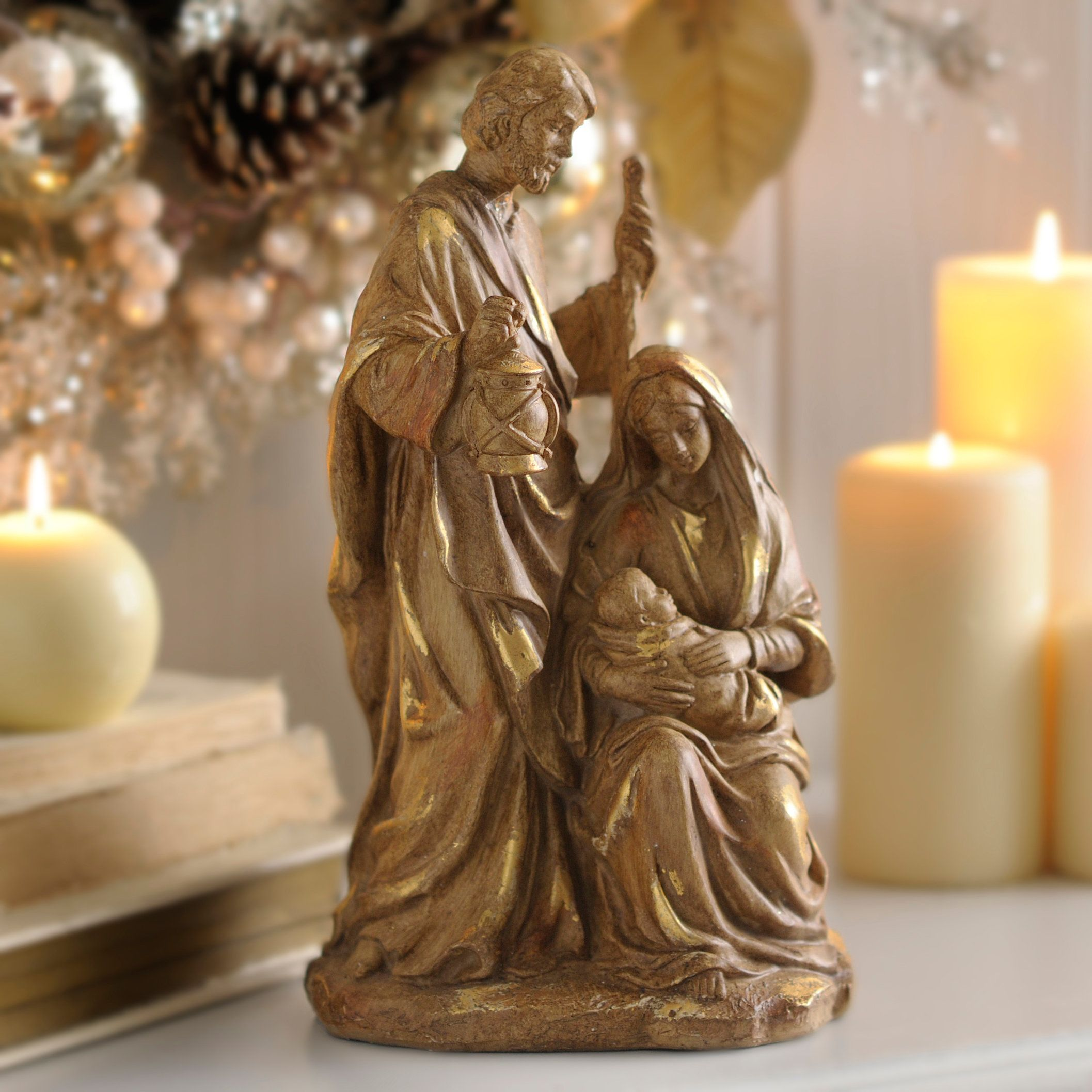 heavens light toscano blessed floor mary the virgin pdx wayfair statue reviews lamp outdoor design
