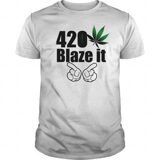 420 Blaze it T shirt