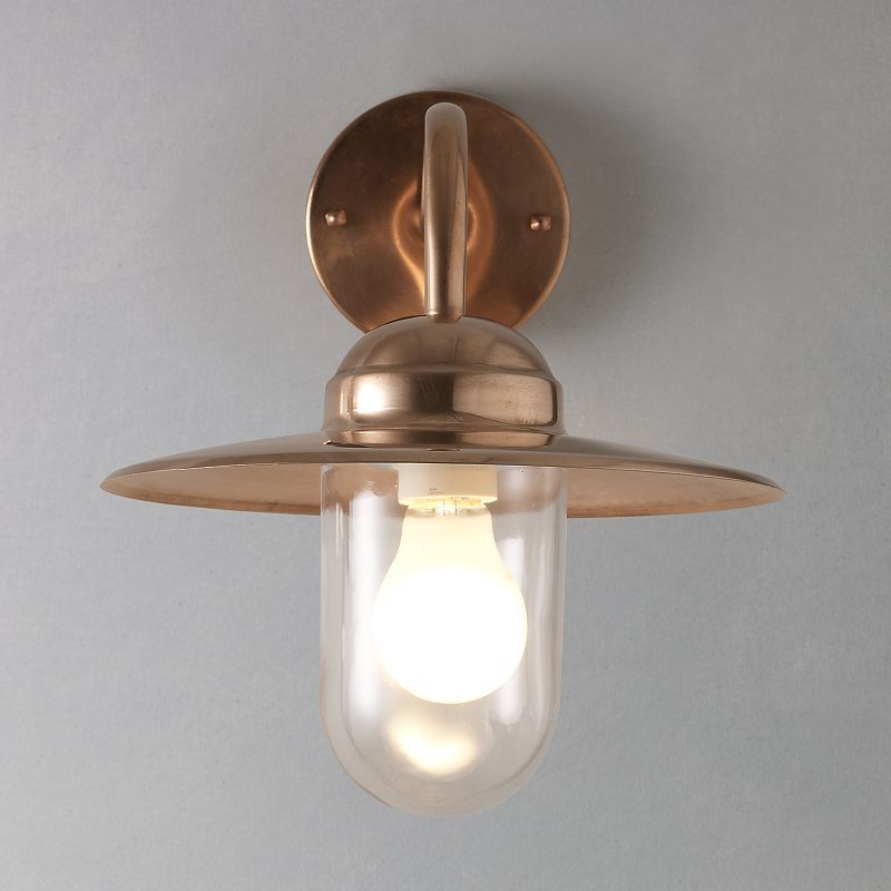 Porch Light John Lewis: Nordlux Luxembourg Outdoor Wall Light, Copper