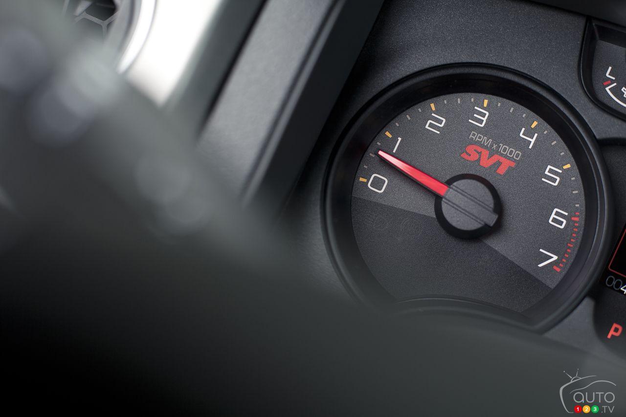 2012 Ford F-150  speedometer