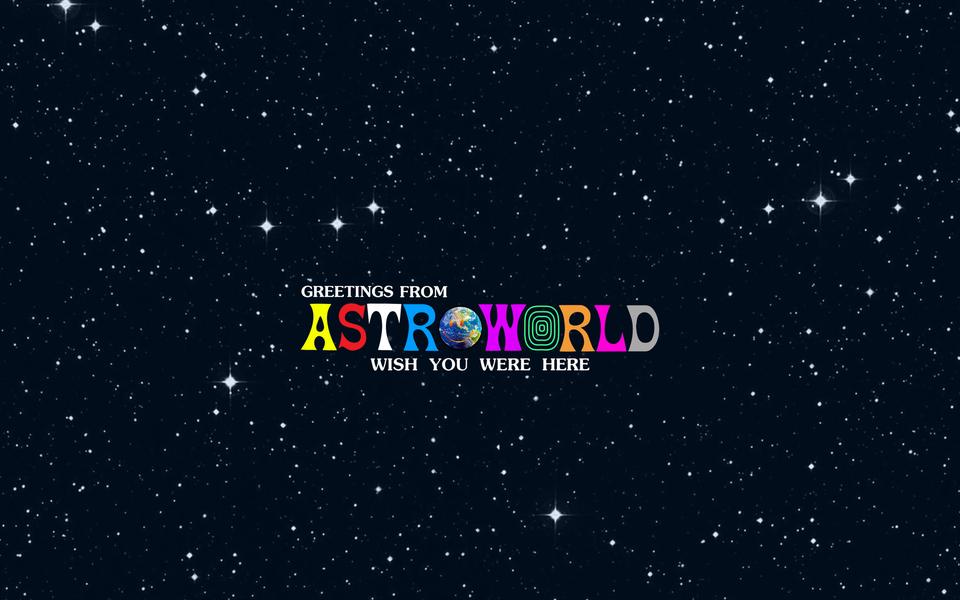 [Image] Astroworld Desktop Wallpaper (2880 × 1800