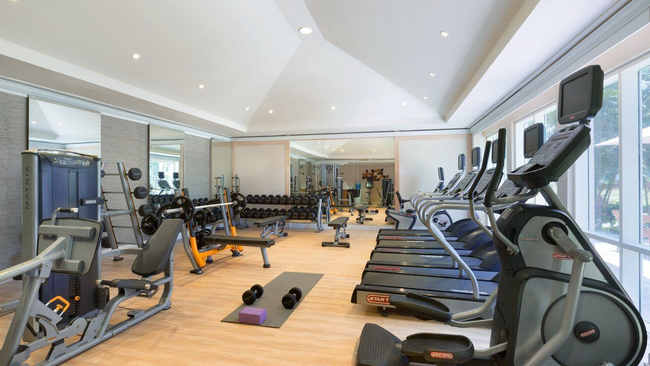 Fitness Center Rose Hall Suites All Inclusive Resorts