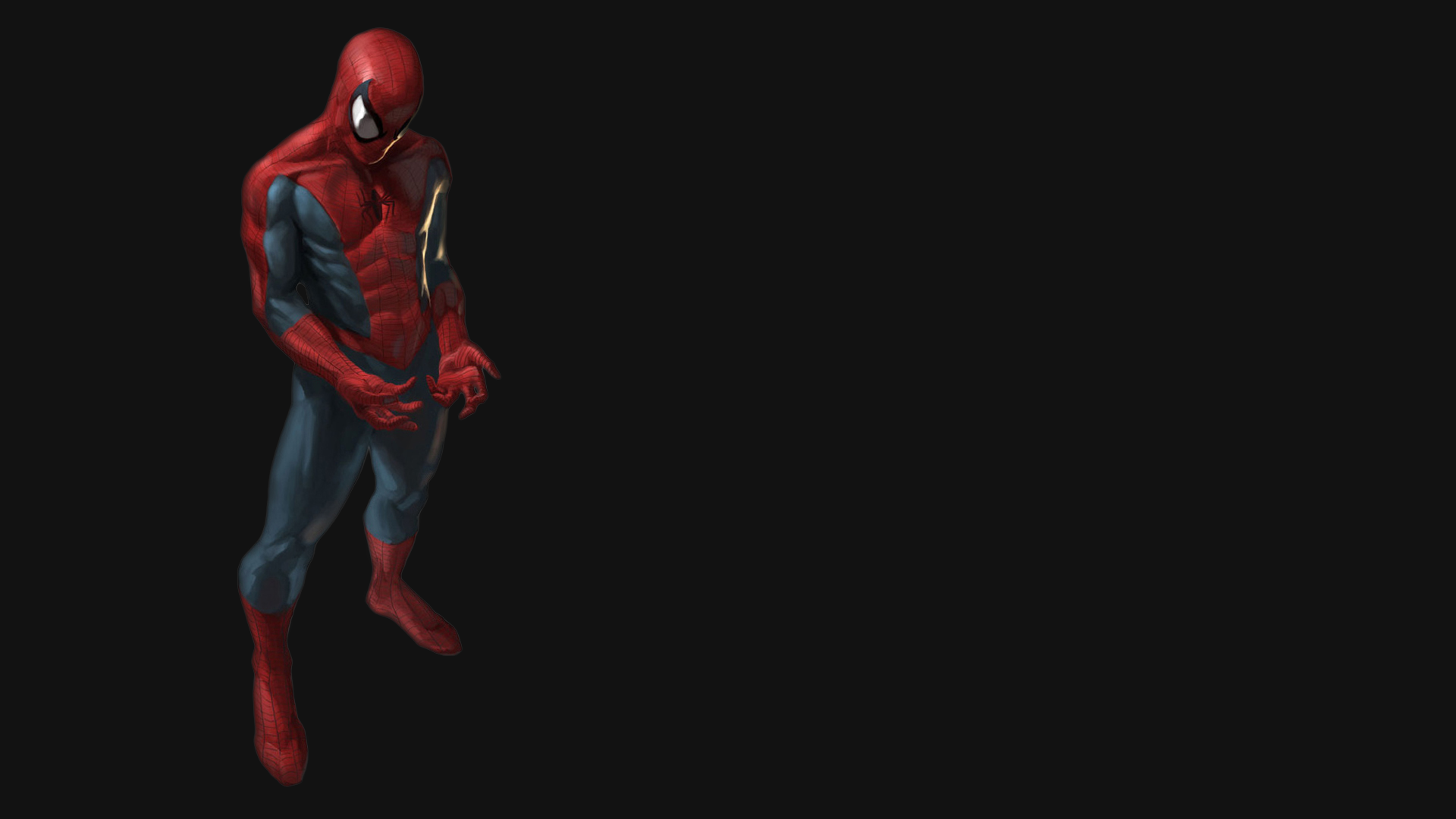 Hd wallpaper with black background - Spiderman Black Background Hd Wallpaper For Desktop