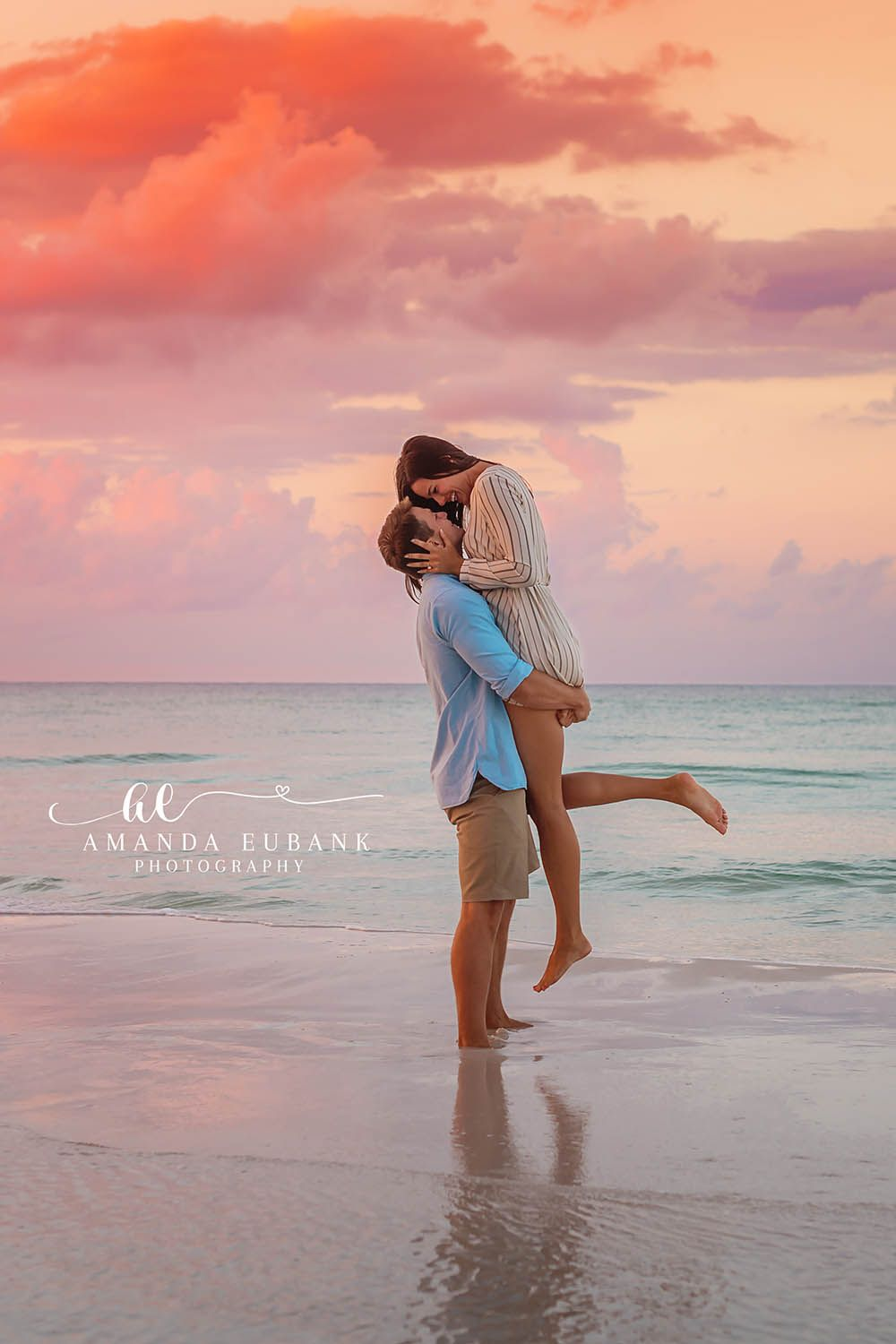 Amanda Eubank Photography Couple Photography Watercolor Florida