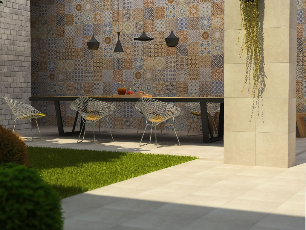 Una Idea Para Remodelar Con Interceramic Terraza
