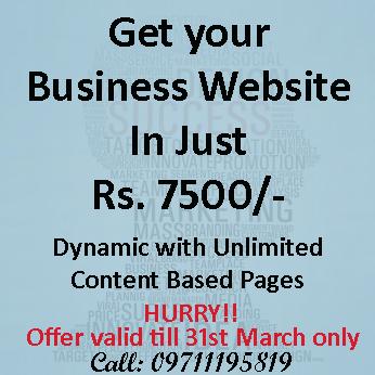 Special Offer On Web Designing Web Design Business Website