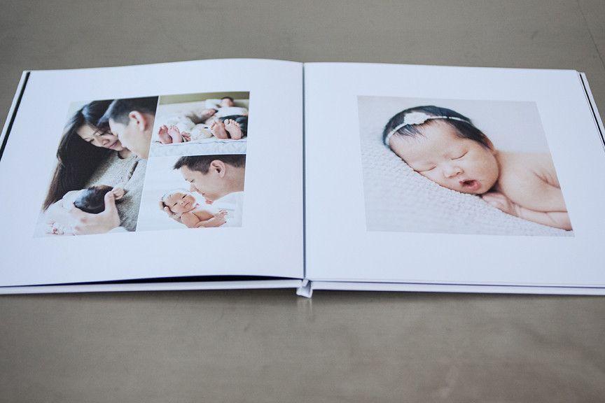 Photo Album Templates Modern Minimalist Photo Album Design Album Design Design Aglow