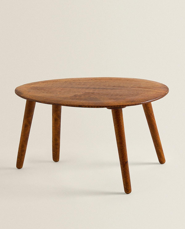 Bild 1 des Produktes BEISTELLTISCH MIT HOLZBEINEN   Holztisch, Zara home, Möbel wohnzimmer