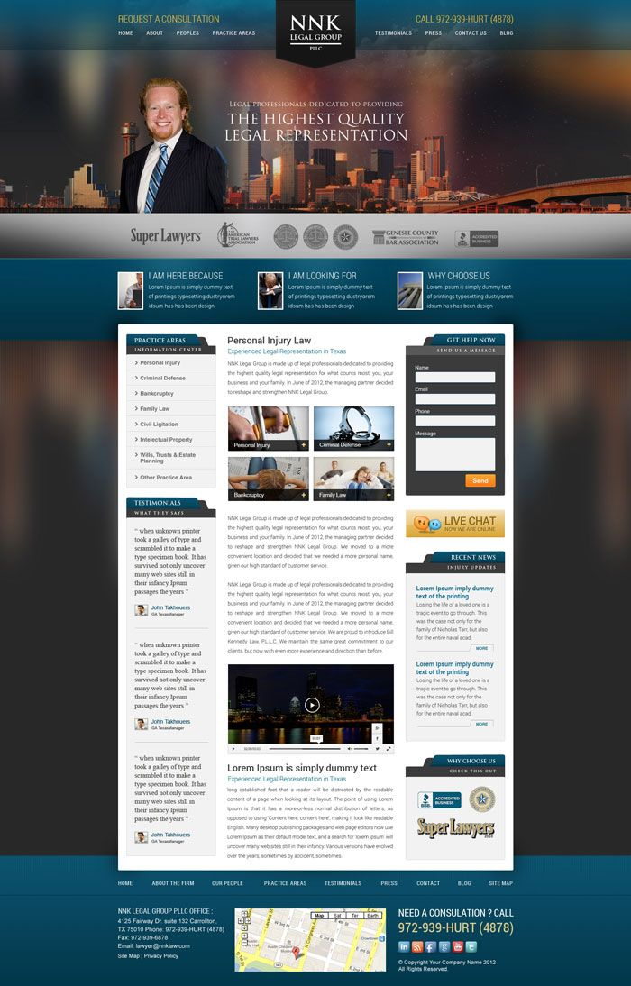 22 Law Firm Websites For Your Inspiration Designyep Law Firm Website Law Firm Inspiration