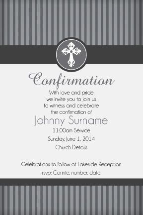 Communion and Confirmation Digital Printable Invitation, - Righteous ...
