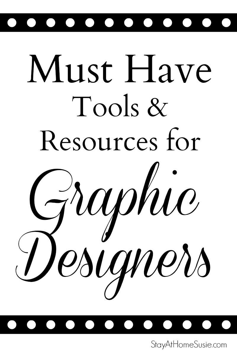 How to Work At Home As A Graphic Designer | Stay At Home Susie | Web ...