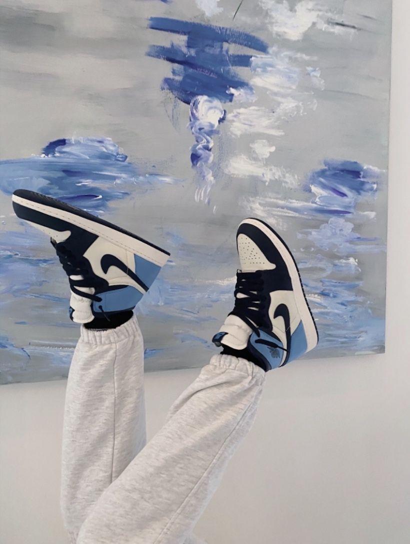 Jordan Retro 1 High Top Blue Air Jordans Zapatillas Retro Air Jordan Retro