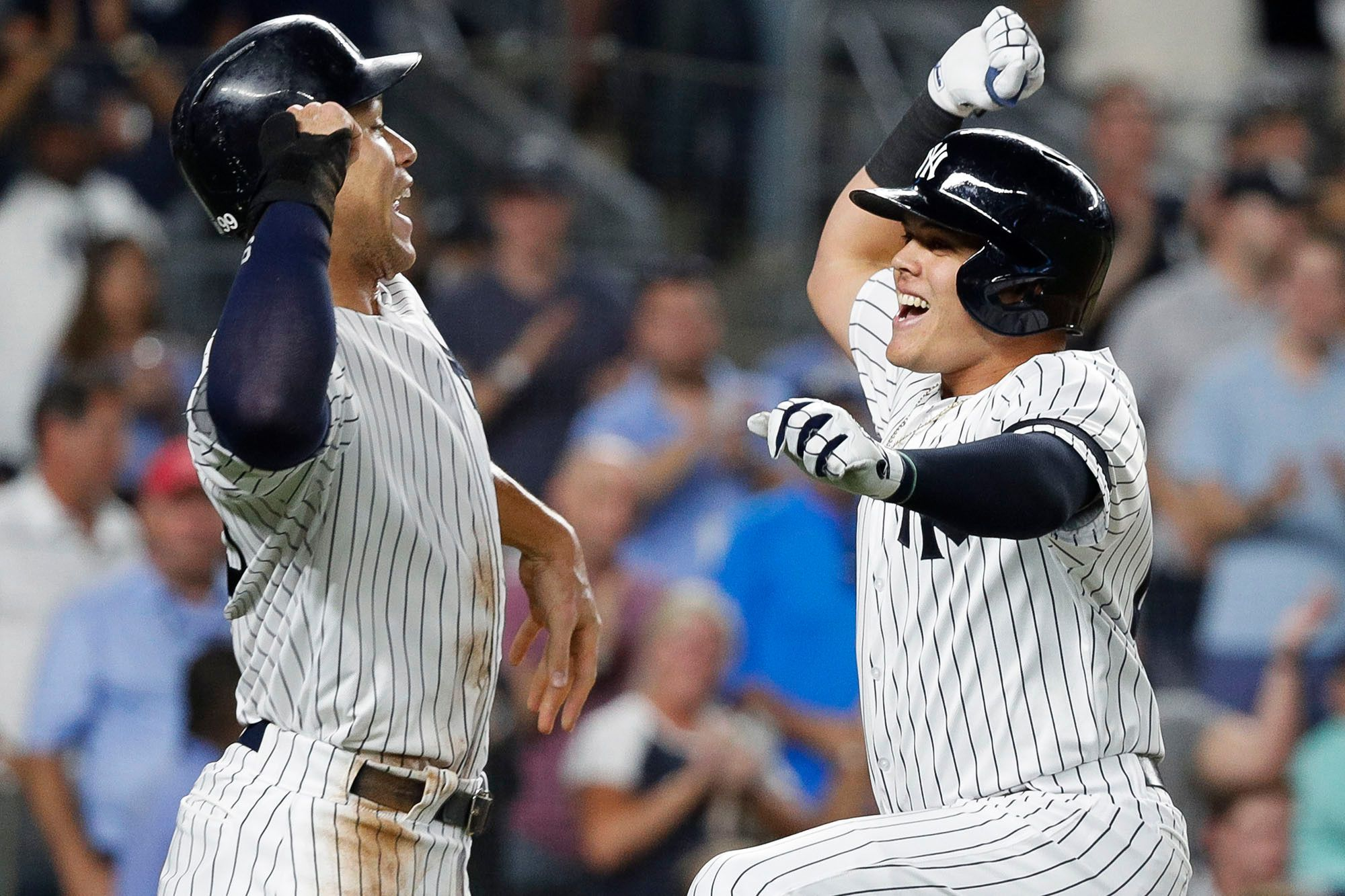 Gio Urshela Is Finding New Ways To Make Yankees Fans Love Him Yankees Fan Fitness Diet Fitness Motivation